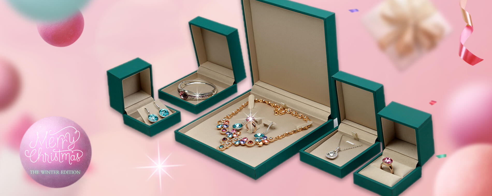 Bespoke Jewelry Packaging Boxes Banner