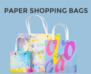 Paper Shopping Bags SMALL