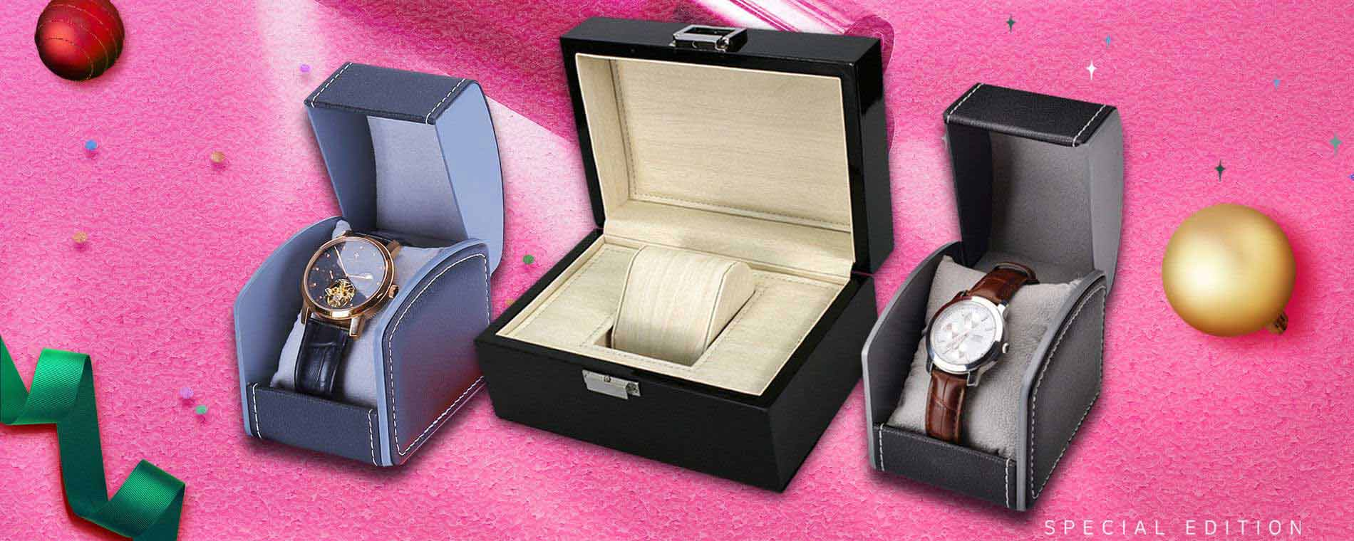 Watch Packaging Boxes Banner