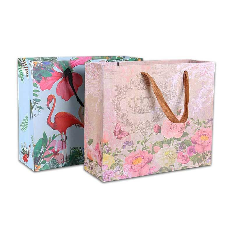 Custom Shopping Paper Bags with Logo (1)