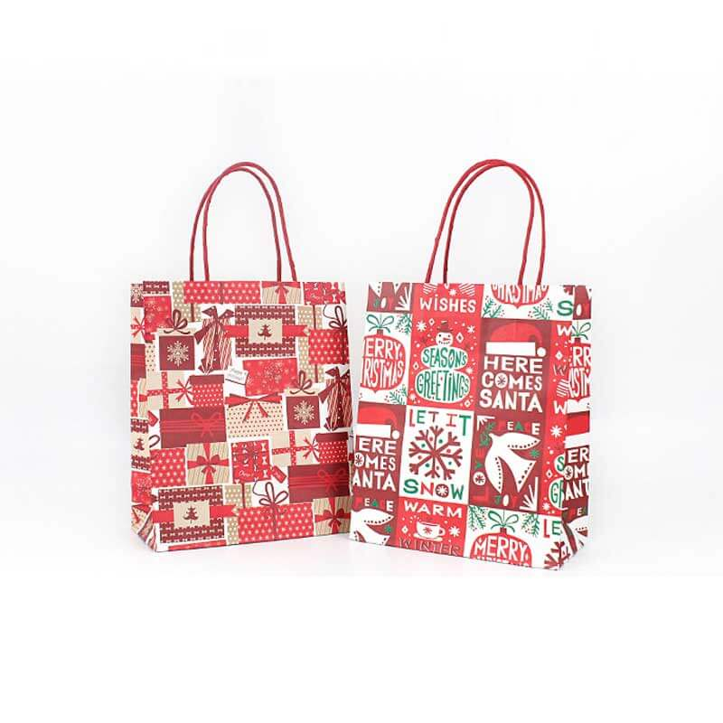 Holiday Valentines Christmas Paper Bags (3)
